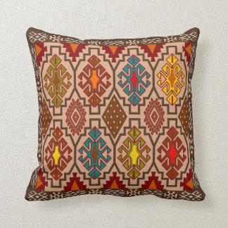 Decorative ethnic style, folk art cushion