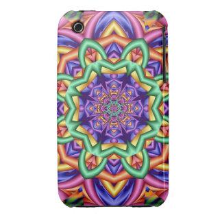 Decorative fantasy flower iPhone 3 cover