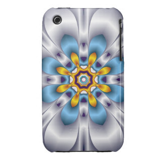 Decorative fantasy flower iPhone 3 covers