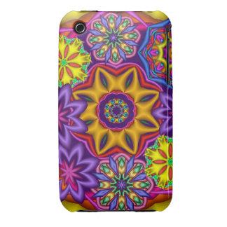 Decorative Fantasy Flowers  iPhone 3G/3GS Case Case-Mate iPhone 3 Cases