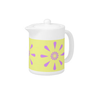 Decorative Floral Art Tea Pot