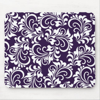 decorative floral background mouse mat