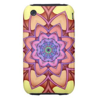 Decorative Floral iPhone 3G/3GS Case-Mate Tough™ Tough iPhone 3 Covers