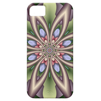 Decorative Floral Kaleidoscope iPhone 5 Cases