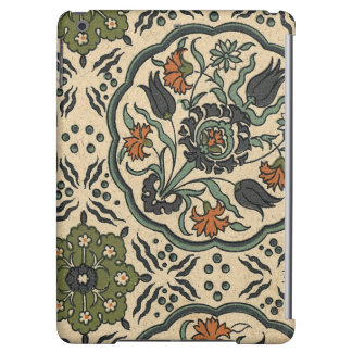 Decorative Floral Persian Tile Design