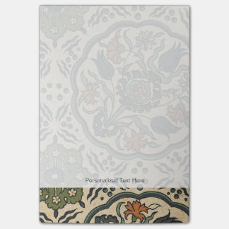 Decorative Floral Persian Tile Design Post-it® Notes