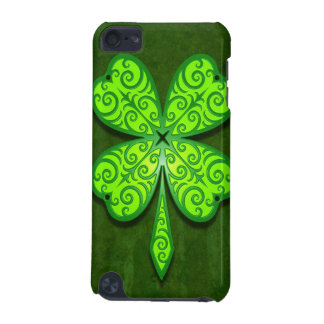 Decorative Four Leaf Clover iPod Touch (5th Generation) Cover