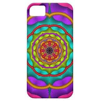 Decorative fractal iPhone 5 case