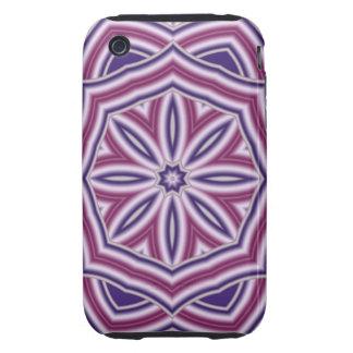 Decorative Fractal Kaleidoscope iPhone 3 Tough Cover