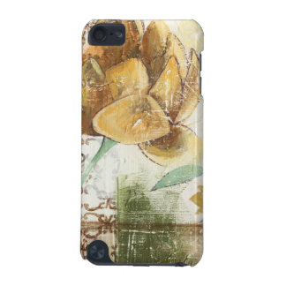 Decorative Fresco Design with Globe Flower iPod Touch 5G Cases