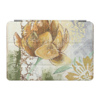 Decorative Fresco Design with Globe Flower iPad Mini Cover