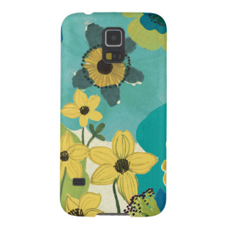 Decorative Garden Flowers Galaxy S5 Covers