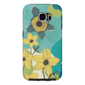 Decorative Garden Flowers Samsung Galaxy S6 Cases
