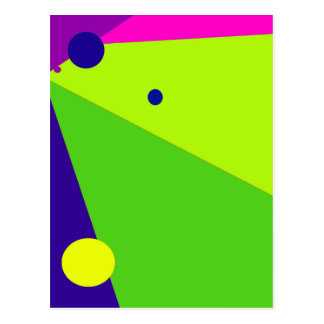 Decorative geometrical design by Moma Postcard