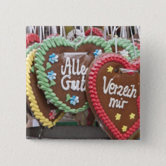 Decorative gingerbread cookies 15 cm square badge