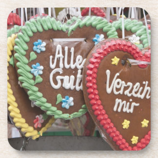 Decorative gingerbread cookies coaster