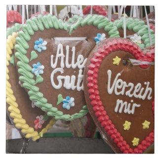 Decorative gingerbread cookies tile