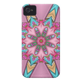 Decorative girly abstract iPhone 4 case