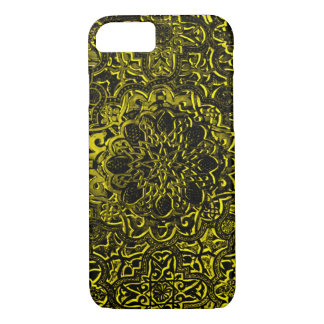 Decorative Gold Demon Lotus Mandala iPhone iPhone 7 Case