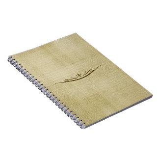 Decorative Golden Journal Notebook