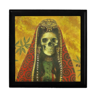 Decorative Gothic Skeleton Gift Box