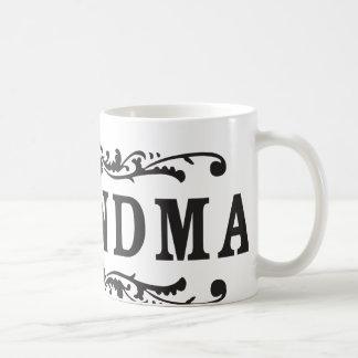 Decorative Grandma Basic White Mug