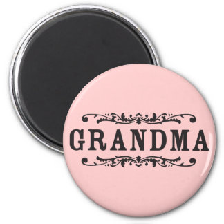 Decorative Grandma Refrigerator Magnet