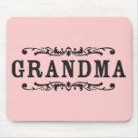 Decorative Grandma Mouse Pad