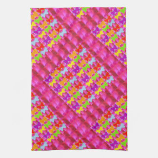 Decorative Graphic BUTTERFLY Show Hand Towels