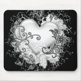 Decorative Heart Mouse Mat