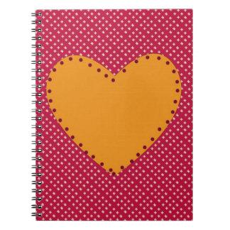 Decorative Heart Notebooks