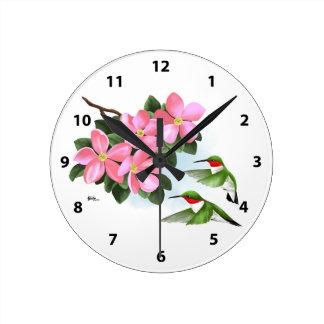 Decorative Hummingbird Clocks
