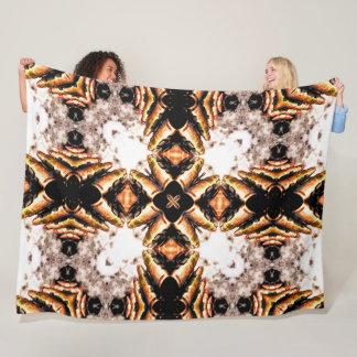 Decorative Hunter Bullets Mandala Fleece Blanket