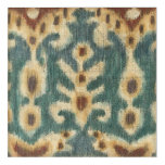 Decorative Ikat Fabric Design by Chariklia Zarris Acrylic Wall Art
