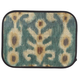 Decorative Ikat Fabric Design by Chariklia Zarris Car Mat