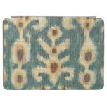 Decorative Ikat Fabric Design by Chariklia Zarris iPad Air Cover