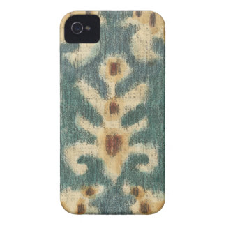 Decorative Ikat Fabric Design by Chariklia Zarris iPhone 4 Cases