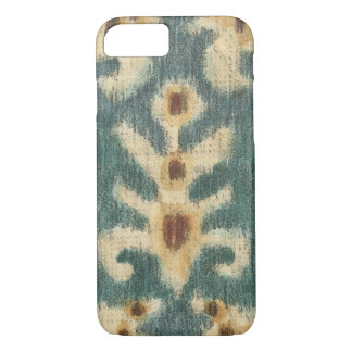 Decorative Ikat Fabric Design by Chariklia Zarris iPhone 8/7 Case