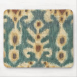 Decorative Ikat Fabric Design by Chariklia Zarris Mouse Mat