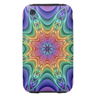 Decorative iPhone 3G/3GS Case-Mate Tough Rainbow iPhone 3 Tough Cover