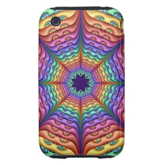 Decorative iPhone 3G/3GS Case Tough Pastel Rainbow