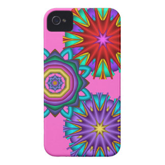Decorative iPhone 4 case with Fantasy Flowers
