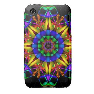 Decorative kaleidoscope iPhone 3 case