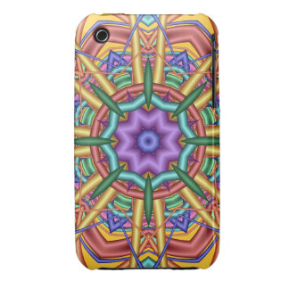 Decorative kaleidoscope iPhone 3G/3GS case iPhone 3 Case-Mate Cases
