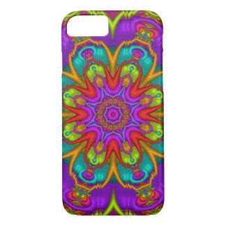 Decorative kaleidoscope iPhone 7 case