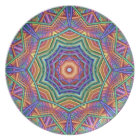 Decorative Kaleidoscope Party Plate