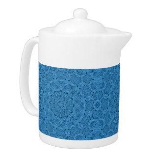 Decorative Knot  Kaleidoscope  Colorful Teapots