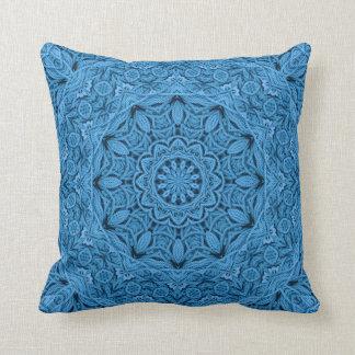 Decorative Knot Kaleidoscope Pattern Throw Pillows