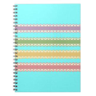 Decorative Laces Note Books