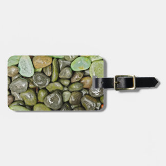 Decorative landscaping rocks luggage tag